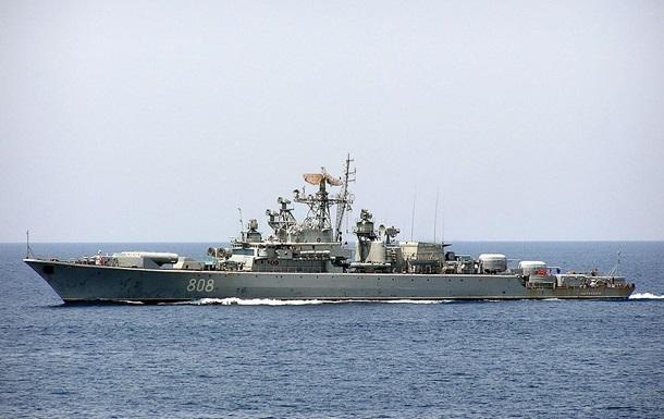 Россия провела стрельбы в Черном море