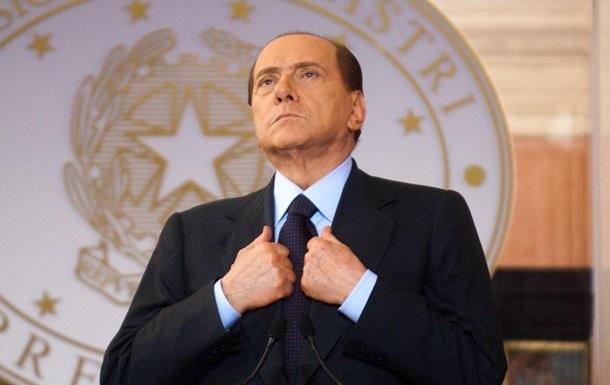 Берлусконі потрапив до лікарні в Італії