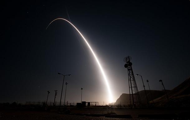 США провели новое испытание ядерной ракеты