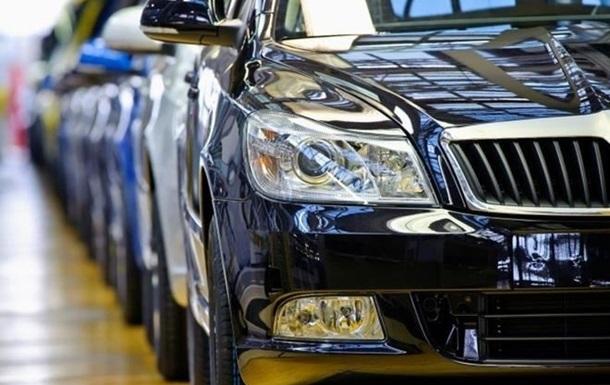В Украине снизились продажи новых автомобилей