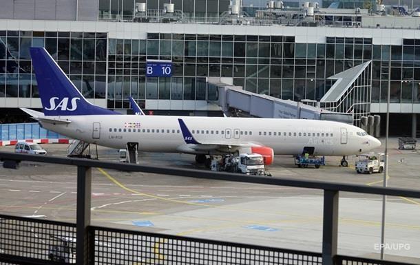 Через страйк в авіакомпанії SAS скасовано понад 700 рейсів