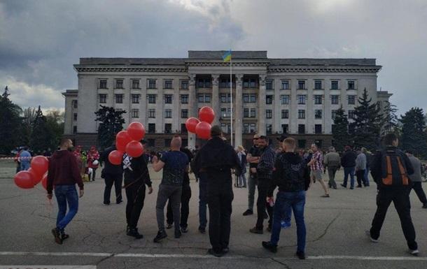 На акції пам яті в Одесі почалися сутички - ЗМІ