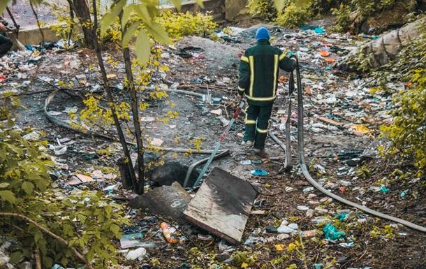 В Киеве два человека погибли при пожаре в коллекторе