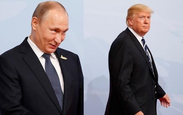 Путін і Трамп годину спілкувалися по телефону