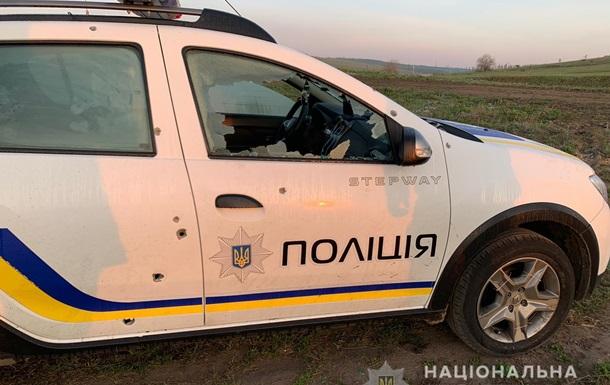 В Одеській області обстріляли поліцейське авто