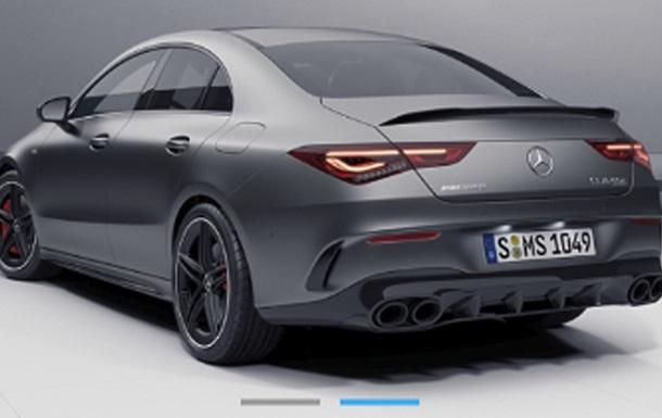 Mercedes-AMG CLA 45 S рассекретили до премьеры