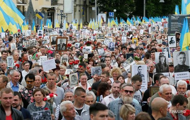 ВКиеве из-за георгиевской ленты задержали общественницу