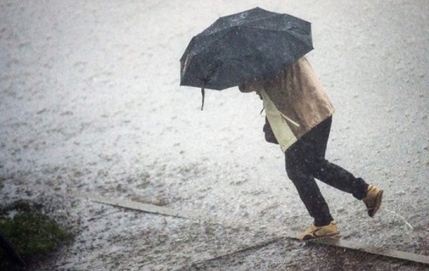 В ряде регионов Украины объявлено штормовое предупреждение