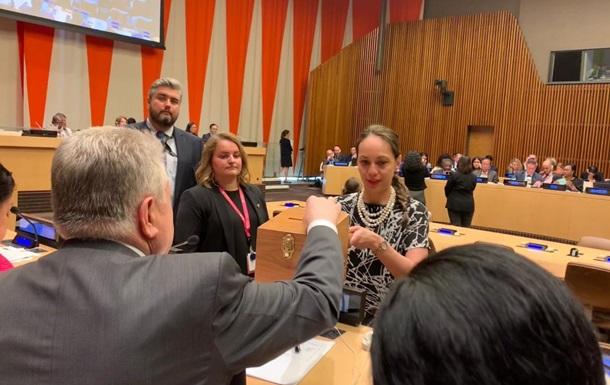 Представники України увійшли до складу двох комісій ООН