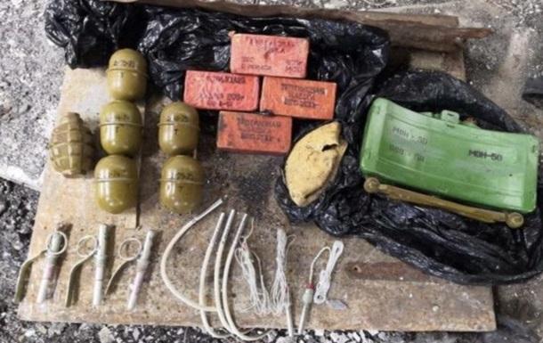 В Одеській області знайшли склад боєприпасів з Донбасу