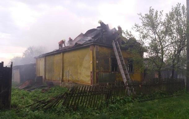 Во время пожара в Сумской области погибли два человека