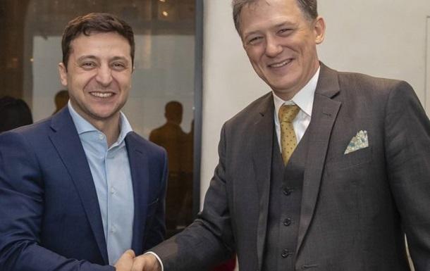 Зеленський зустрівся з посланником Держдепартаменту