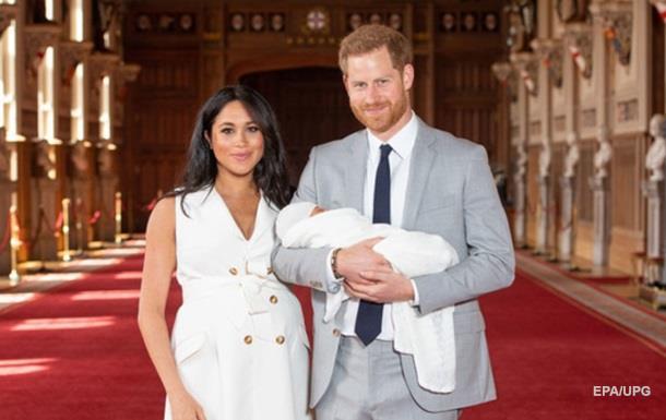Принц Гаррі і Меган Маркл показали свого сина