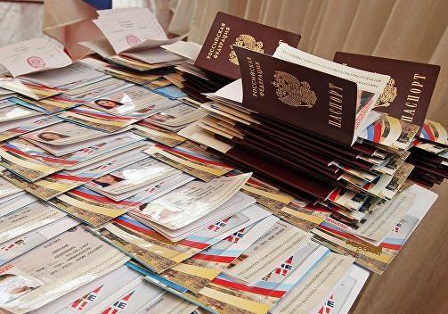 Бардак в республиках с выдачей паспортов
