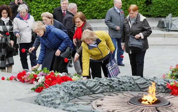 Киевляне почтили жертв Второй мировой войны