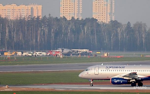 У Росії за день скасували п ять рейсів із SSJ-100