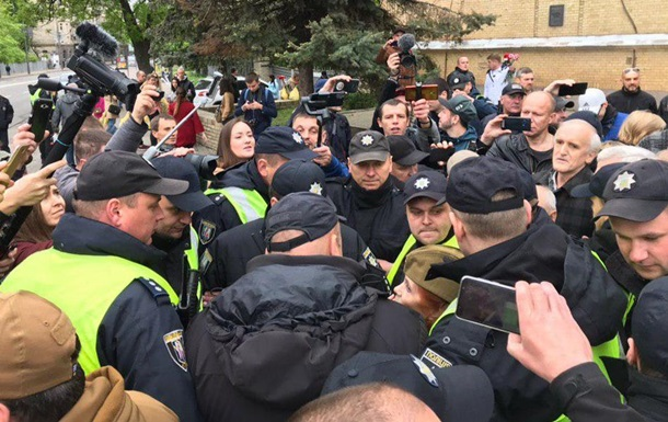 У Києві почалися затримання через заборонену символіку
