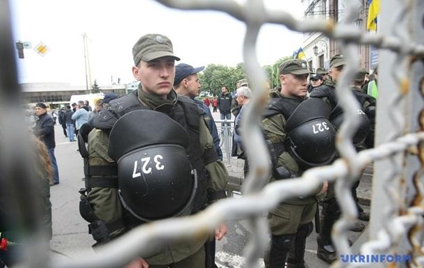 У Києві розділили акції Демсокири і Безсмертного полку