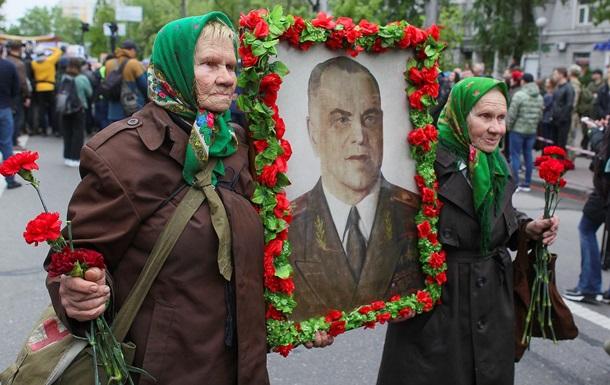 З явилися фото з акції Безсмертний полк у Києві