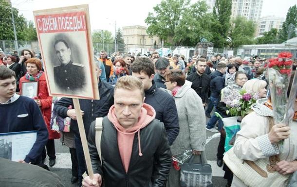 9 мая в Киеве. Эксклюзивные видео с Дня Победы