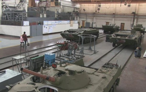 СБУ розслідує закупівлі неякісних запчастин на бронетанковому заводі