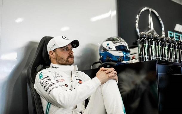 Боттас став найкращим у першій практиці Гран-прі Іспанії