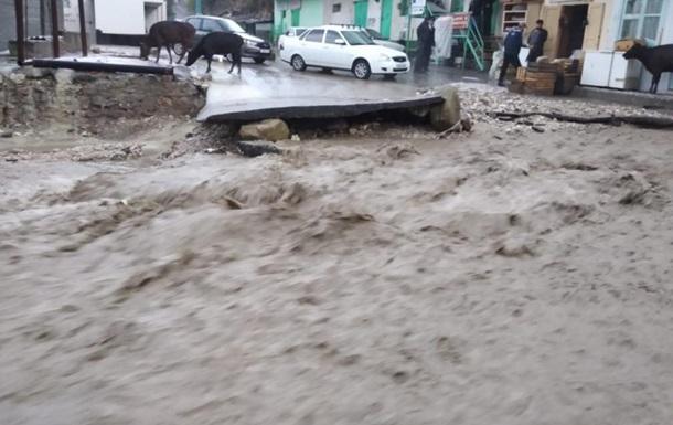 Селевий потік в Росії забрав стадо і п ять машин