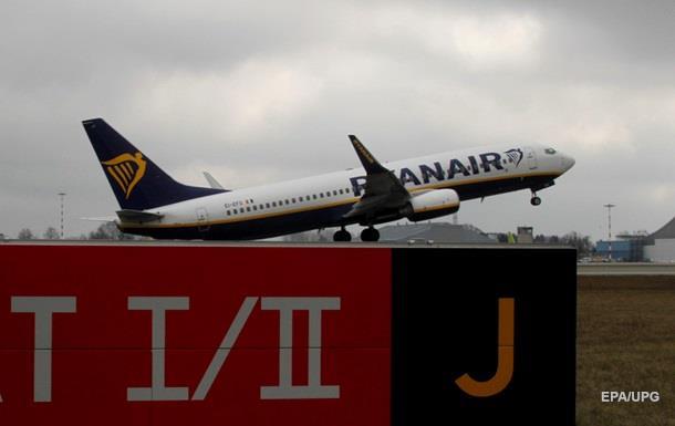 Ryanair збільшує частоту польотів в Україну