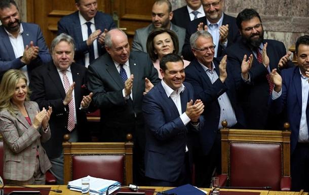 Грецький парламент висловив довіру уряду Алексіса Ципраса