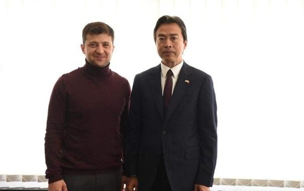 Зеленський обговорив з послом Китаю інвестиції