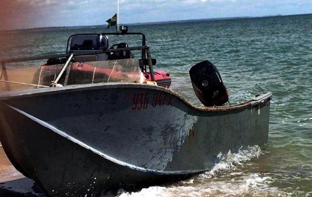 Браконьеры пытались убежать от морской охраны в Азовском море