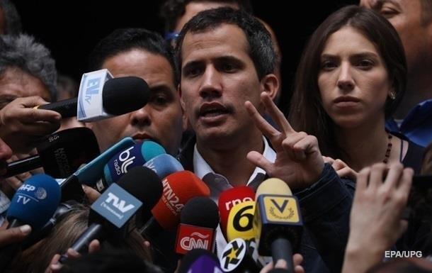 Гуайдо доручив своєму представникові зустрітися з військовими США