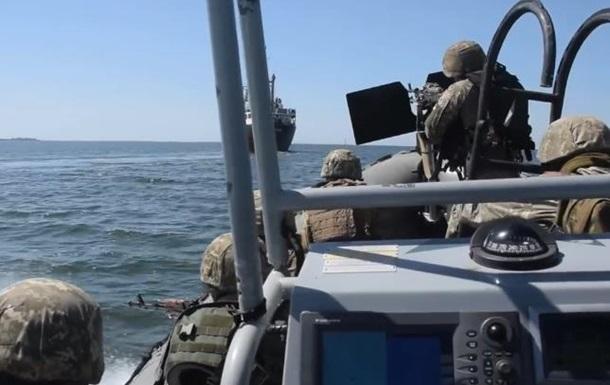 ВСУ отрабатывают захват судов в открытом море