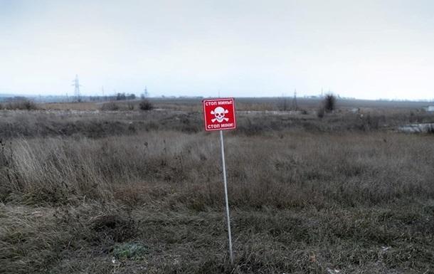 У зоні ООС за тиждень виявили понад 70 мін