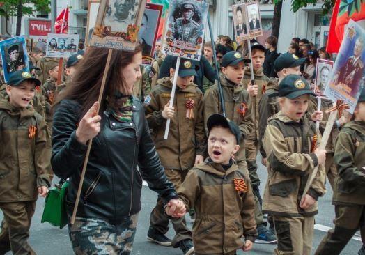 Идеологическая война: в Крыму отмечали День Победы
