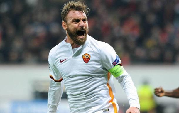 Рома оголосила про відхід Де Россі, який грав за римлян 18 сезонів