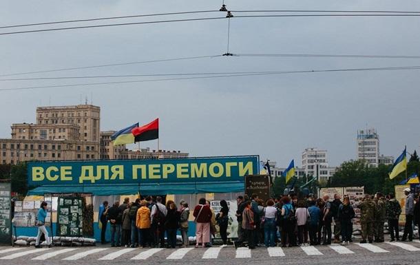 Влада Харкова відповіла на петицію про намет волонтерів