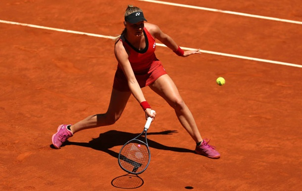 Ястремська покинула турнір у Римі в першому колі