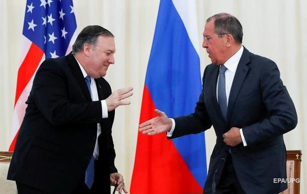 Помпео і Лавров обговорили Україну та Венесуелу