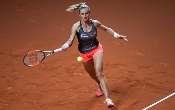 Цуренко пробилася до другого кола парного турніру в Римі