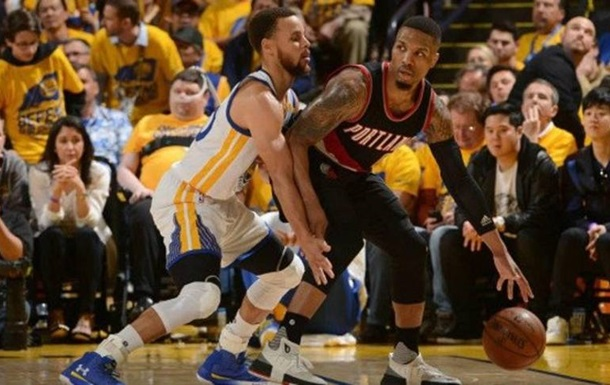 Плей-офф НБА: Голден Стейт обіграв Портленд і повів в серії