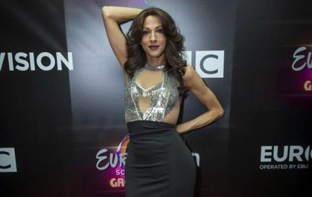 Дана Интернешнл вернулась на сцену Евровидения в качестве гостя