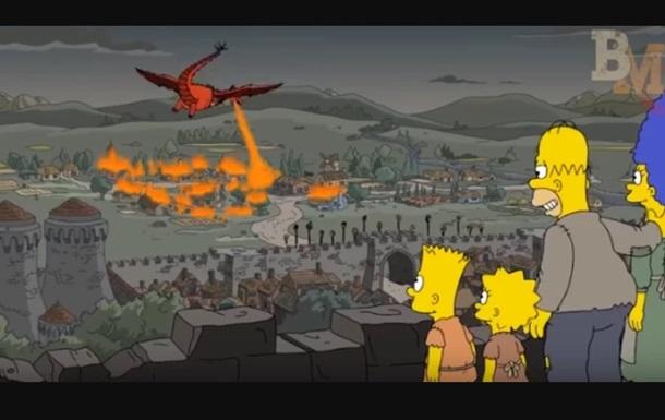 В Симпсонах был предсказан финал Игры престолов