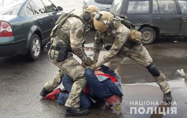У Житомирі спецназ затримав торговців кокаїном
