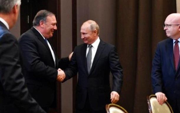Встреча в Сочи: о чем договорились Путин и Помпео