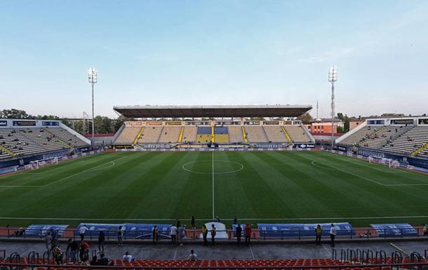 Збірна України може провести матч у Запоріжжі