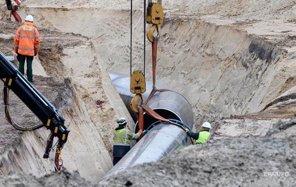 У ФРН активісти залізли в газопровід, протестуючи проти Північного потоку-2