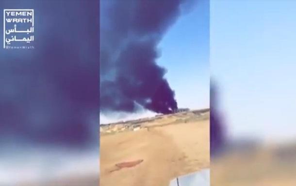 З явилося відео наслідків атаки БПЛА в Саудівській Аравії