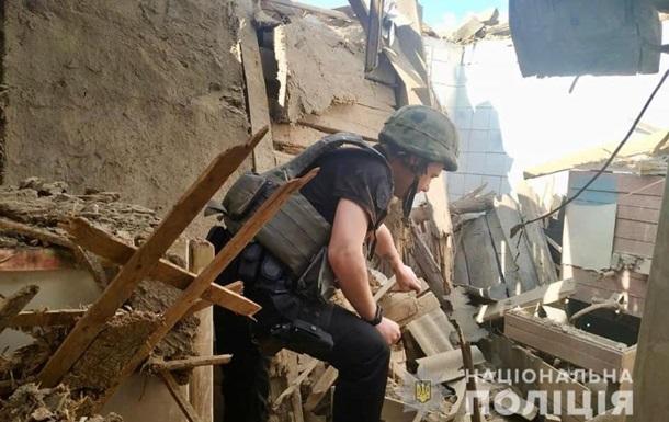 На Луганщині снаряд сепаратистів зруйнував будинок - МВС