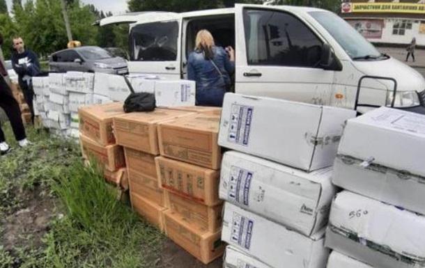 В Киеве задержали похитителей крупной партии орехов